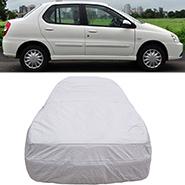 Digitru Car Body Cover for Tata Indigo eCS - Silver