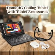 Domo 4G Calling Tablet with Tablet Accessories