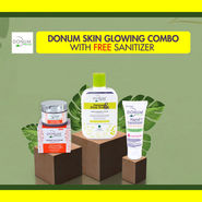 Donum Skin Glowing Combo with Sanitizer Free