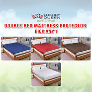 Double Bed Mattress Protector - Pick Any One