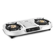 Sunblaze Double Burner- CUTEE PLUS - SS Cooktop LE-S214