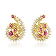 Branded Gold Plated Artificial Earrings_Er30057g