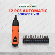 Easy Homz 12 Pcs Automatic Screw Driver