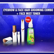 Eyebrow & Face Hair Grooming Combo + Face Mist Toner