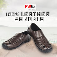 FW16 100% Leather Sandals
