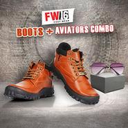 FW16 Boots + Aviators Combo