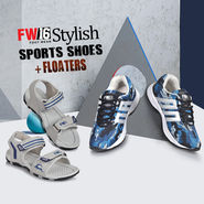 FW16 Stylish Sports Shoes + Floaters