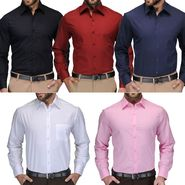 Combo of 5 Full Sleeves Cotton Shirts_Fab0501