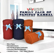 Family Pack of Panipat Kambal (5FB7)