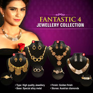 Fantastic 4 Jewellery Collection