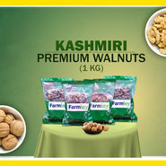 Farmley Kashmiri Premium Walnuts (1kg)