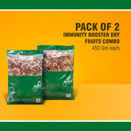Farmley Pack of 2 Immunity Booster Dry Fruits Combo