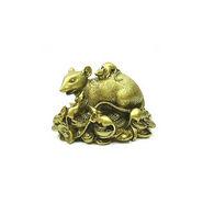 Fengshui Wealth Enhancing Mongoose - Golden
