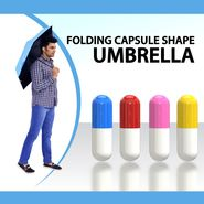 Folding Capsule Shape Umbrella