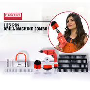 Foster 135 Pcs Drill Machine Combo