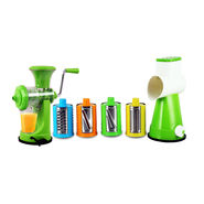 Royal Chef Fruit Juicer + 4 in 1 Drum Slicer & Shredder