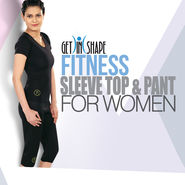Get In Shape Fitness Sleeve Top And Pant for Women (GIS16)