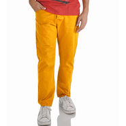 Slim Fit Cotton Chinos_gyel - Yellow