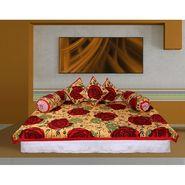 Set of 6 pc GRJ INDIA Ethnic Cotton Diwan Set-GRJ-DWST-13