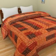 GRJ India Designer Printed Single AC Bed Quilt-GRJ-SQ-147