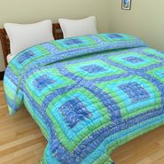GRJ India Designer Printed Single AC Bed Quilt-GRJ-SQ-153
