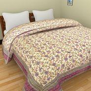 GRJ India Designer Printed Single AC Bed Quilt-GRJ-SQ-160