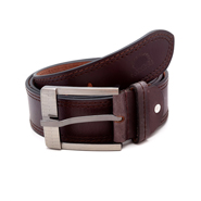 Porcupine Leather belt - Brown_GRJBELT11