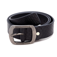 Porcupine Leather belt - Black_GRJBELT3