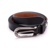 Porcupine Leather belt - Black_GRJBELT5