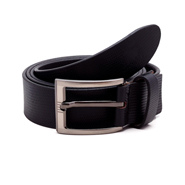 Porcupine Leather belt - Black_GRJBELT8