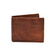 Porcupine Pure Leather wallet - Brown