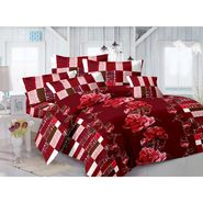 Valtellina 100% Cotton Double Bedsheet with 2 Pillow Cover-GVS-7004-G