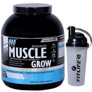 GXN Advance Muscle Grow 6 Lb (2.27kgs) Butterscotch Flavor  + Free Protein Shaker