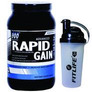 GXN Advance Rapid Gain 2 Lb (907grms) Banana Flavor + Free Protein Shaker