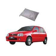 Galaxy Car Body Cover Maruti Zen - Silver