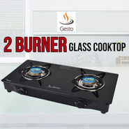 Gesto 2 Burner - Glass Cooktop