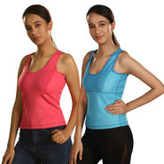 Get In Shape Pack of 2 Tank Top Slimming Vest for Women (GIS15)