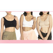 Get In Shape Pack of 3 Magic Bras