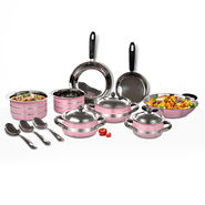 14 Pcs Colored Cookware