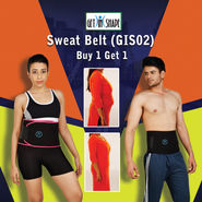 Get In Shape Sweat Belt (GIS02) - Buy 1 Get 1