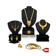 Gold Plated Bridal Jewellery Collection