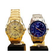 Men's Gold Watch + Platinum Watch (2MW4)