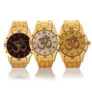 Om Men's Gold Watch (MGW7)