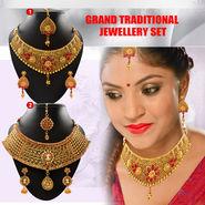Grand Traditional Jewellery Set