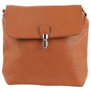 Tamirha Brown Sling Bag with Formal Look -Hb16910K