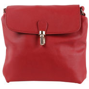 Tamirha Maroon Sling Bag with Stylish Appearance -Hb16910M