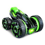 Extreme High Speed 360 Degree Spins Double Sided RC 6 in 1 Stunt Car - Green