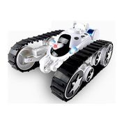 Emob Super Power 360° Rotating Remote Control Battle Tank Toy - White