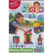 New Styles DIY 120Pcs Baby Block Real Action Fun Playset