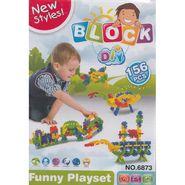 New Styles DIY 156Pcs Baby Block Real Action Fun Playset